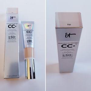 IT CC+ color correcting full coverage cream 50 spf